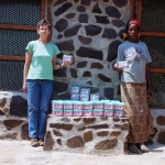 Donation of sanitary pads